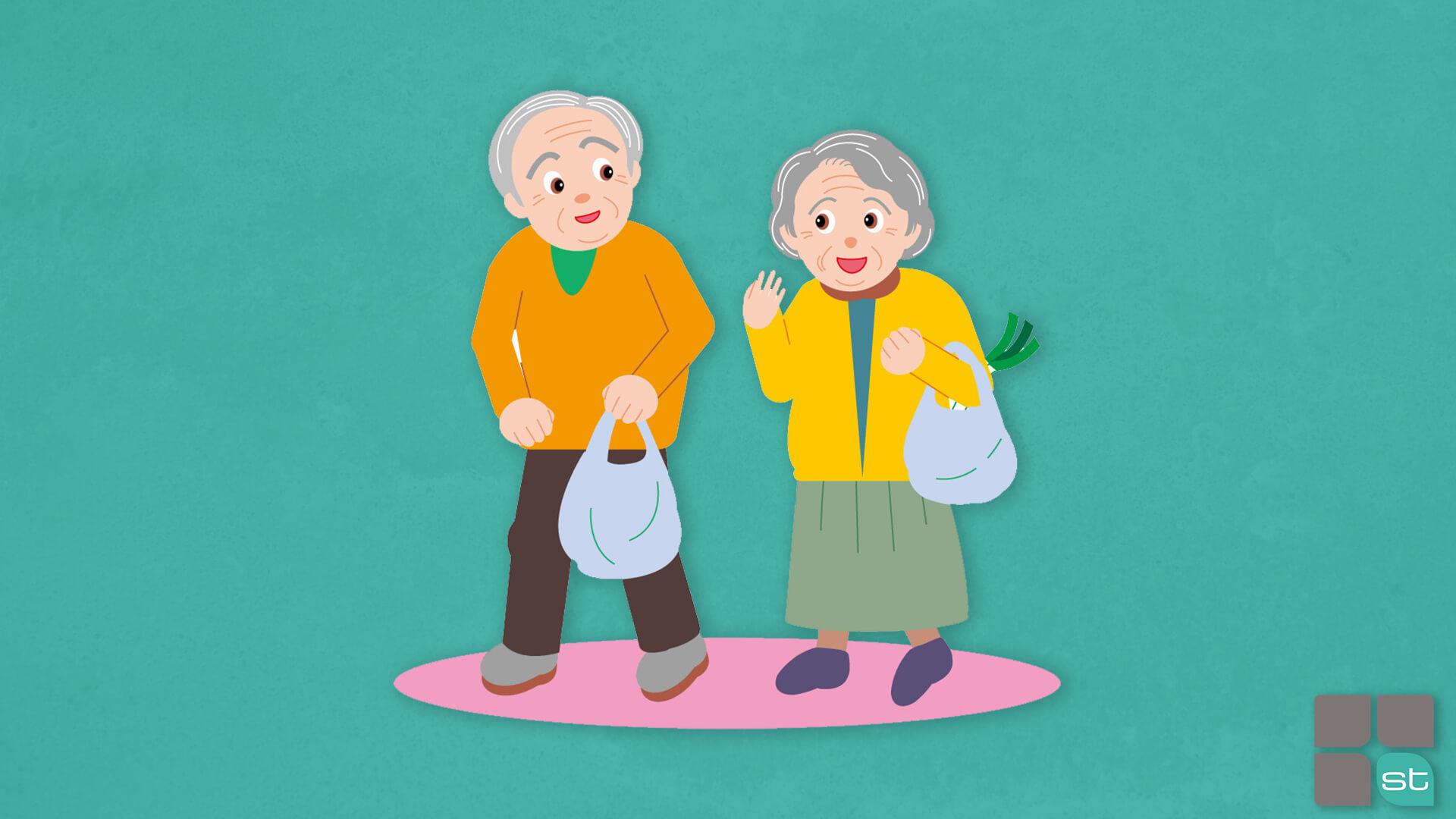 come invecchiare bene e in salute