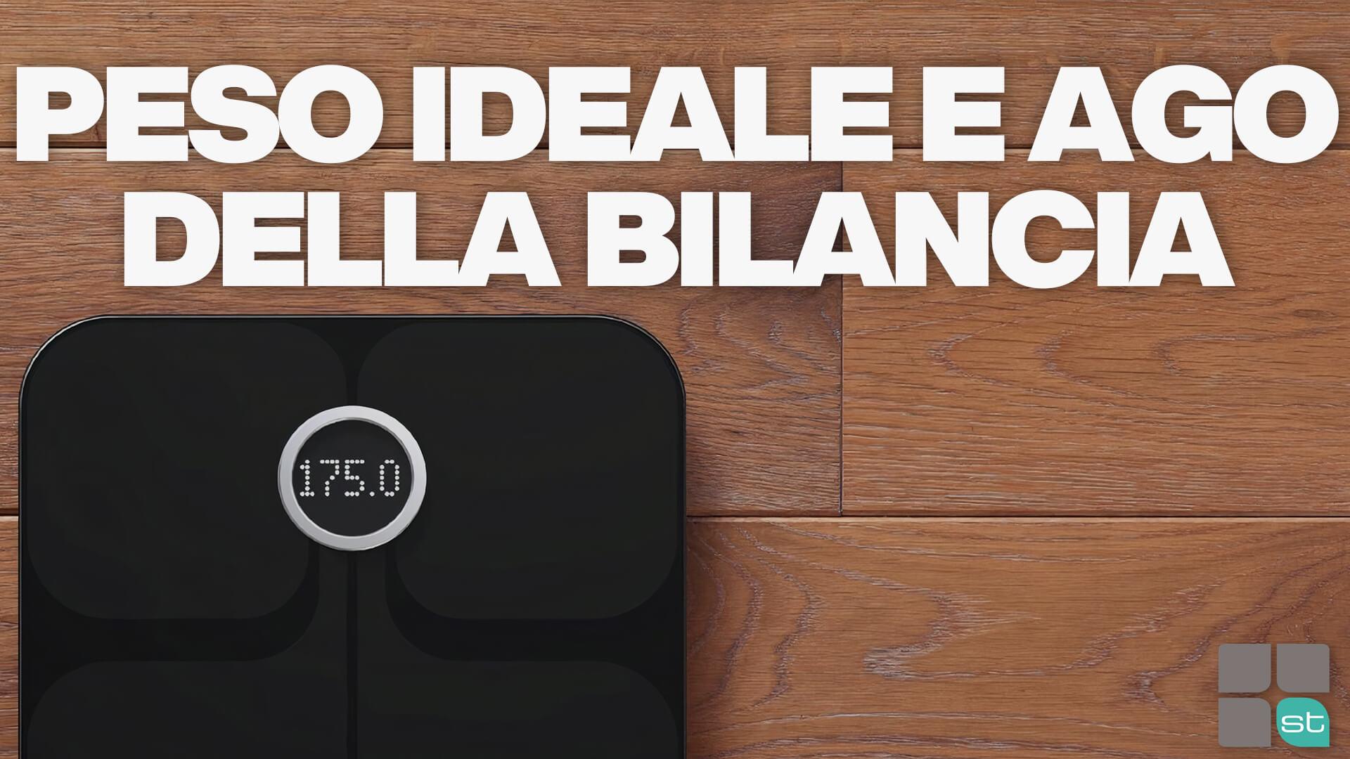 peso-ideale-ago-bilancia